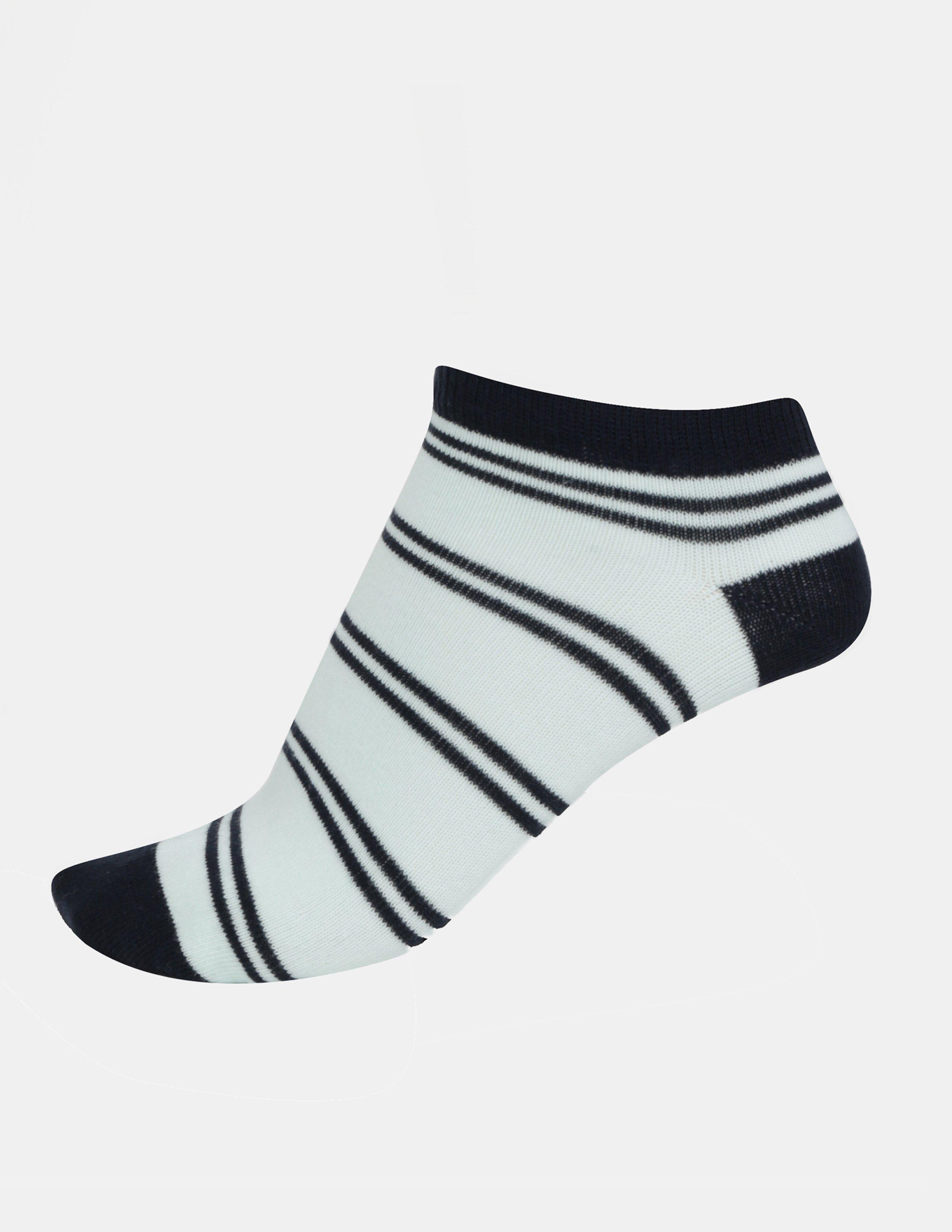 Sada tří párů klučičích ponožek v modré barvě name it Janik - 1