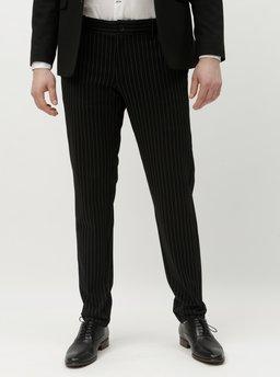 Pantaloni negri in dungi ONLY & SONS Mark