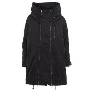 Jachetă neagră cu glugă Mama.licious New Tikka