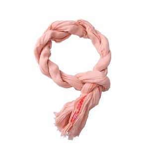 Eșarfă Passigatti roz, cu paiete