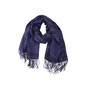 Eșarfă de damă pepit INVUU London – albastru violet