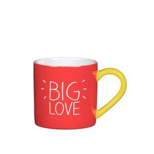Cană Happy Jackson Big Love – roșu la pretul de 47.99