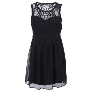 Rochie cu dantelă Vero Moda Neja - negru