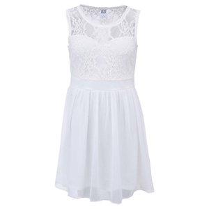 Rochie cu dantelă Neja Vero Moda – alb la pretul de 204.99