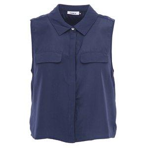 Bluză fără mâneci ONLY Cadie - bleumarin