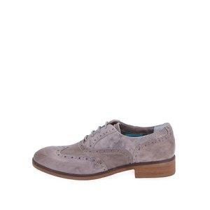 U.S. Polo Assn., U.S. Polo Assn. Pantofi Oxford de damă Lauryn din piele – gri