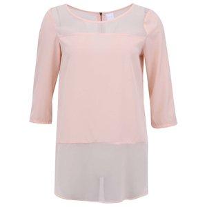 Vero Moda, Vero Moda Bluză Meghan Simplă – Roz