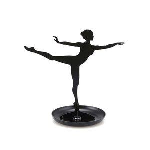 Kikkerland, Suport negru de bijuterii Kikkerland Ballerina
