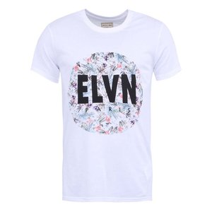 Tricou cu imprimeu pentru bărbați Eleven Paris Alfow – alb