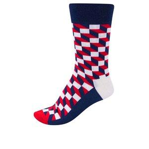 Happy Socks, Șosete pentru bărbați Happy Socks Filled Optic cu imprimeu