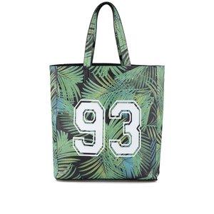 New Look, Geantă verde cu imprimeu palmier New Look