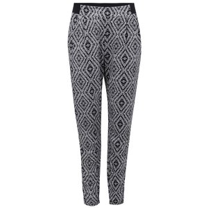 New Look, Pantaloni alb cu negru New Look