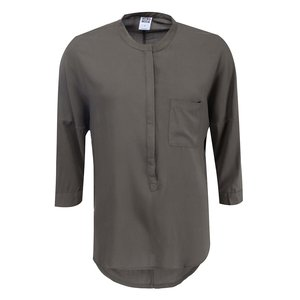 Bluză cu mânecă trei sferturi, kaki, model Easy de la Vero Moda