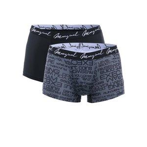 Marginal, Set boxeri Marginal – gri + negru – 2 perechi