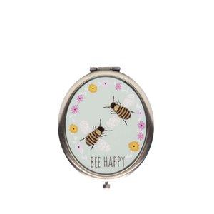 Sass & Belle, Oglindă compactă Sass & Belle cu model albine