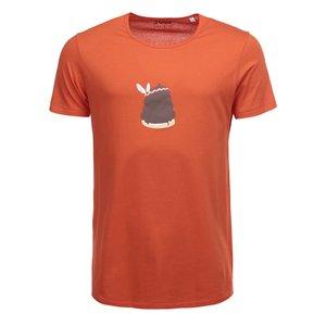 Tricou portocaliu cu imprimeu ZOOT Original