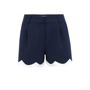 Pantaloni scurți bleumarin cu bordură albă Paper Dolls
