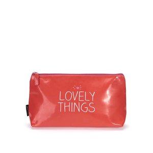 Geantă de cosmetice roșie Happy Jackson