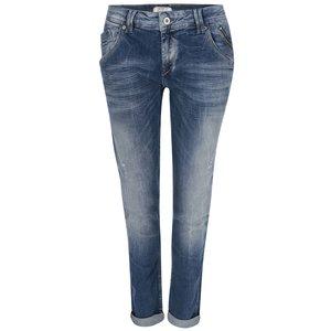 Jeanși de damă Mercure, bleumarin, decolorați, Pepe Jeans
