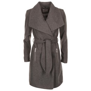 Palton gri închis Vero Moda Kate