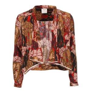 Vero Moda, Blazer Ani de la Vero Moda, model floral, roșu