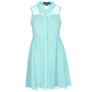 Rochie verde menthol de la Girls on Film
