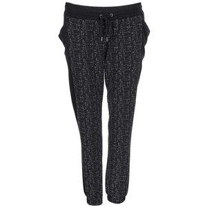 Pantaloni de trening, negri cu imprimeu, Vero Moda Sparkle