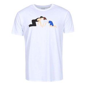 Tricou ZOOT Original Dirty Dancing alb bărbătesc