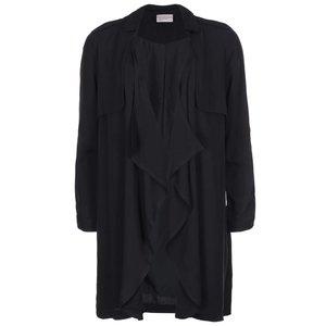 Vero Moda, Blazer Wonderland, de la Vero Moda, lung – negru