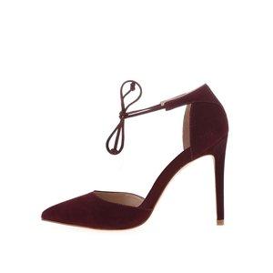 ALDO, Pantofi cu toc ALDO Sorbara burgundy