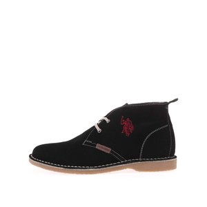 U.S. Polo Assn., U.S. Polo Assn. Pantofi de damă din piele până la gleznă Glenda3 – negru