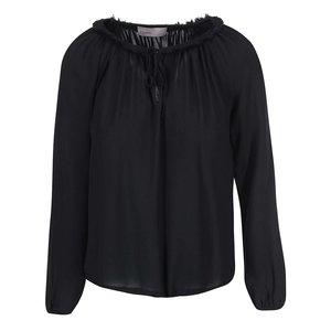 Bluză Louise neagră de la Vero Moda