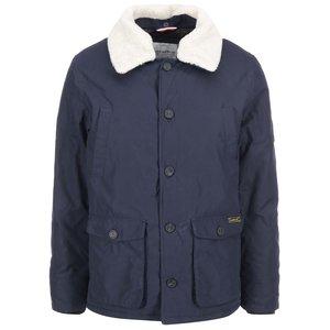 Jachetă de damă, de la Lindbergh, cu guler de blană – Bleumarin