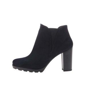 Pantofi OJJU bleumarin cu toc înalt