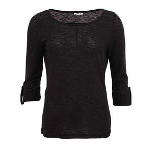 Bluză ONLY Jess neagră cu mânecă trei sferturi la pretul de 76.99