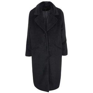 Palton de damă negru lung de la Brave Soul Trixie