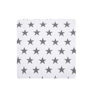 Față de pernă albă cu stele de la Dakls
