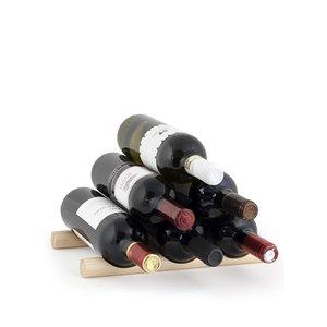 Kikkerland, Rastel pentru vinuri din două bucăți de lemn de la Kikkerland