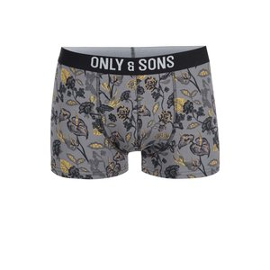 ONLY & SONS, Boxeri gri cu imprimeu de la ONLY & SONS Sam
