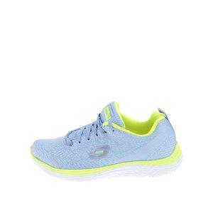 Skechers, Pantofi sport de damă Skechers Valeris- verde – albastru