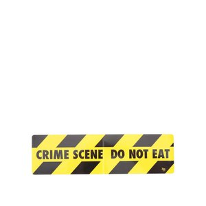 Magnet De Frigider Crime Scene De La Donkey Snack