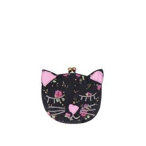 Sass & Belle, Portofel în formă de pisică Sass & Belle – Negru
