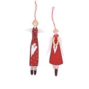 Sass & Belle, Set 2 ornamente Sass & Belle în formă de îngeri