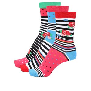 Set de 3 șosete Oddsocks Milly de damă