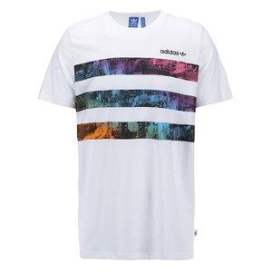 Tricou bărbătesc Adidas Originals Vibrant City T - Alb