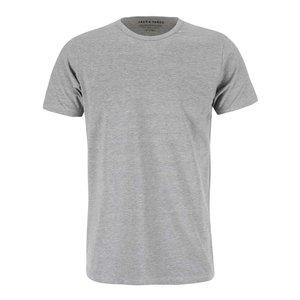 Tricou simplu cu mânecă scurtă Jack & Jones – gri