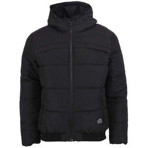 Jachetă de iarnă matlasată neagră Jack & Jones Sammo