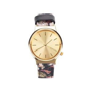 Ceas de damă cu imprimeu floral Komono Wizard