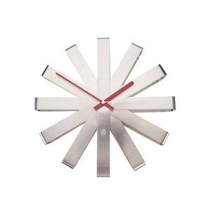 Ceas de perete din oțel UMBRA Ribbon