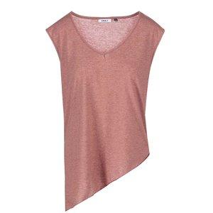 Bluza asimetrică Vio, de la ONLY - roșie